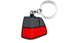 NIFTY MK2 Taillight schwarz rot