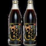 国産 黒にんにく 黒酢 900ml×2本