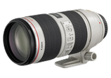 Canon 70-200mm f/2.8L - $65 day / $195 week / $650 per month
