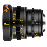 Veydra Micro 4/3 Mini Prime 16mm T2.2 Lens $40 day / $120 week  / $400 per month