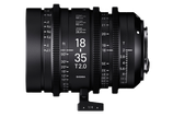 Sigma HighSpeed S35 18-35mm T2 - $150 day / $450 week    / $1,500 per month
