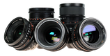 Super Speeds Set of 5 (18mm, 25, 35, 50, 85) - Uncoated $850 day / $2550 week    / $8500 per month