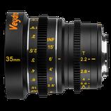 Veydra Micro 4/3 Mini Prime 35mm f2.2 Lens $40 day / $120 week  / $400 per month