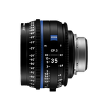 Zeiss CP.3 XD 35mm T2.1 EF/PL Lens $125 day / $375 week  / $1250 per month