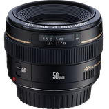 Canon EF 50mm f/1.4 USM Lens $40 per day