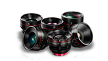CN-E Cinema Prime 6 Lens Set - $550 day / $1650 week    / $5,500 per month
