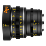 Veydra Micro 4/3 Mini Prime 25mm f2.2 Lens $40 day / $120 week  / $400 per month