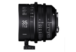 Sigma HighSpeed FF 35mm T1.5 - $100 day / $300 week    / $1,000 per month