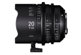 Sigma HighSpeed FF 20mm T1.5 - $100 day / $300 week    / $1,000 per month