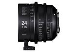 Sigma HighSpeed FF 24mm T1.5 - $100 day / $300 week    / $1,000 per month
