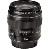 Canon EF 85mm f/1.8 USM Lens $45 day / $130 week  / $450 per month