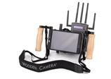 Wooden Camera On Camera Monitor Cage- $15 per day