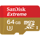 Micro SD 64GB Memory Card $20 day / $60 week  / $200 per month