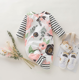 Baby Overall Stripes & Florals