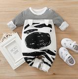 Baby Overall Zebra