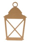 Lanterna in  Mdf 25cm Artemio Cod. 14003050