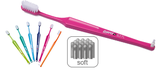 paro® toothbrush S27L with single fufted brush, soft