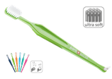 paro® exS39, toothbrush with single tufted brush, ultrasoft