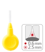 paro® flexi grip, xx-fine, yellow, cylindric , 2.5 mm, 4 pcs