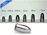 Tungsten Bullet Weight w/ Insert