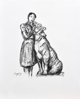 Dessin original (fusain, 52 x 73 cm)