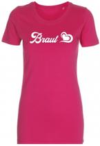 Braut T-Shirt pink