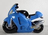 Spardose Motorrad silber