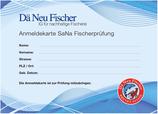 Zusätzlicher Anmeldetalon zur SaNa Fischerprüfung