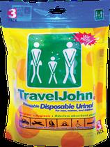 Travel John! 3 pack – (3 unidades)