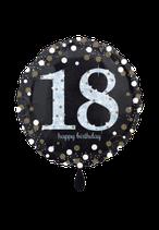 1 Folienballon - Funkelnder Geburtstag