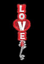 1 Folienballon - Love Schriftzug 99 cm