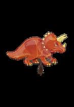 1 Folienballon - Ø 106cm - Dinosaurier Triceratops