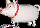 1 Laufender Ballon - Ø 62cm – Schwein