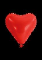 50 Herzluftballons - Ø 33cm