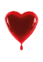 Folienballon - Ø 45cm - Herz