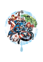 1 Folienballon - Avengers - Ø 45cm