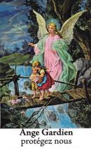 Bougie de Neuvaine Ange Gardien avec effigie et prière