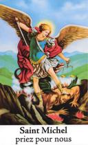 Bougie de Neuvaine Saint Michel avec effigie