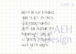 Textstempel GEBURTSTAGS-KATASTROPHE
