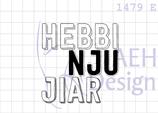 Textstempel HEBBI NJU JIAR