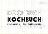 Mini-Stempelset KOCHBUCH