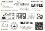 Stempelset KAFFEE  & TEE