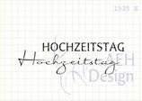 Mini-Stempelset HOCHZEITSTAG