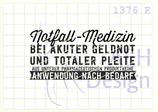 Textstempel NOTFALL-MEDIZIN