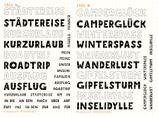 Sonderaktion Stempelsets KURZURLAUB und URLAUBSSPASS