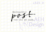 Textstempel FROHES FEST