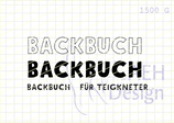 Mini-Stempelset BACKBUCH