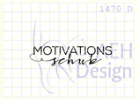 Textstempel MOTIVATIONSSCHUB
