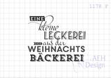 Textstempel EINE KLEINE LECKEREI V2