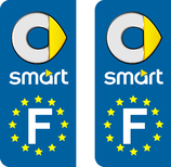 Lot de 2 adhésifs Smart Europe